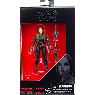 Star Wars, 2016 The Black Series, Sergeant Jyn Erso (Rogue One) Exclusive Action Figure, 3.75 Inches: Toys & Games
