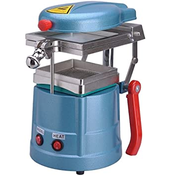 Dental Vacuum Former Forming Machine W Materials