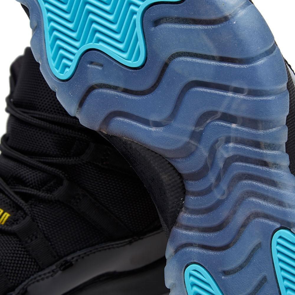 best website 09cd0 e0a8a Amazon.com  Air Jordan 11 Gamma Blue High Black Gamma Blue-Varsity Maize  378037-006 Patent Leather Basketball Men Shoe (12.5) (0686907527316)  Books