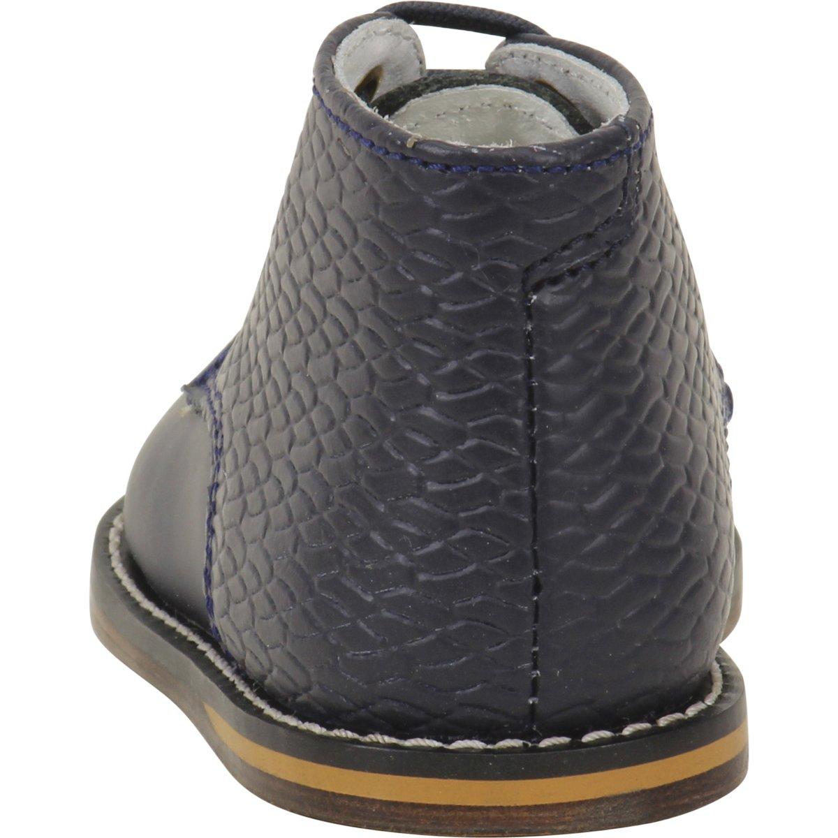 JOSMO 2-8 Woven Print Walking Shoes Navy Woven, 4