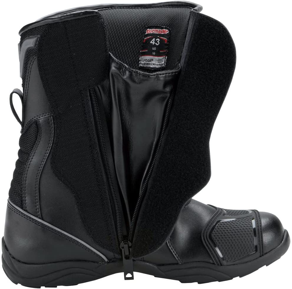 Tourmaster Solution WP Black Wide Air Boots Size 14W