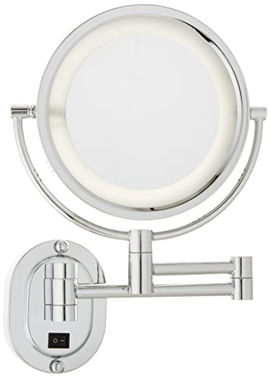 Amazon.com : Jerdon HL65CD 8-Inch Lighted Direct Wire Wall Mount ...