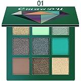 Eyeshadow Palette Guesthome,9 Colors Eyeshadow Cosmetic Matte Eyeshadow Cream Makeup Palette Shimmer Set