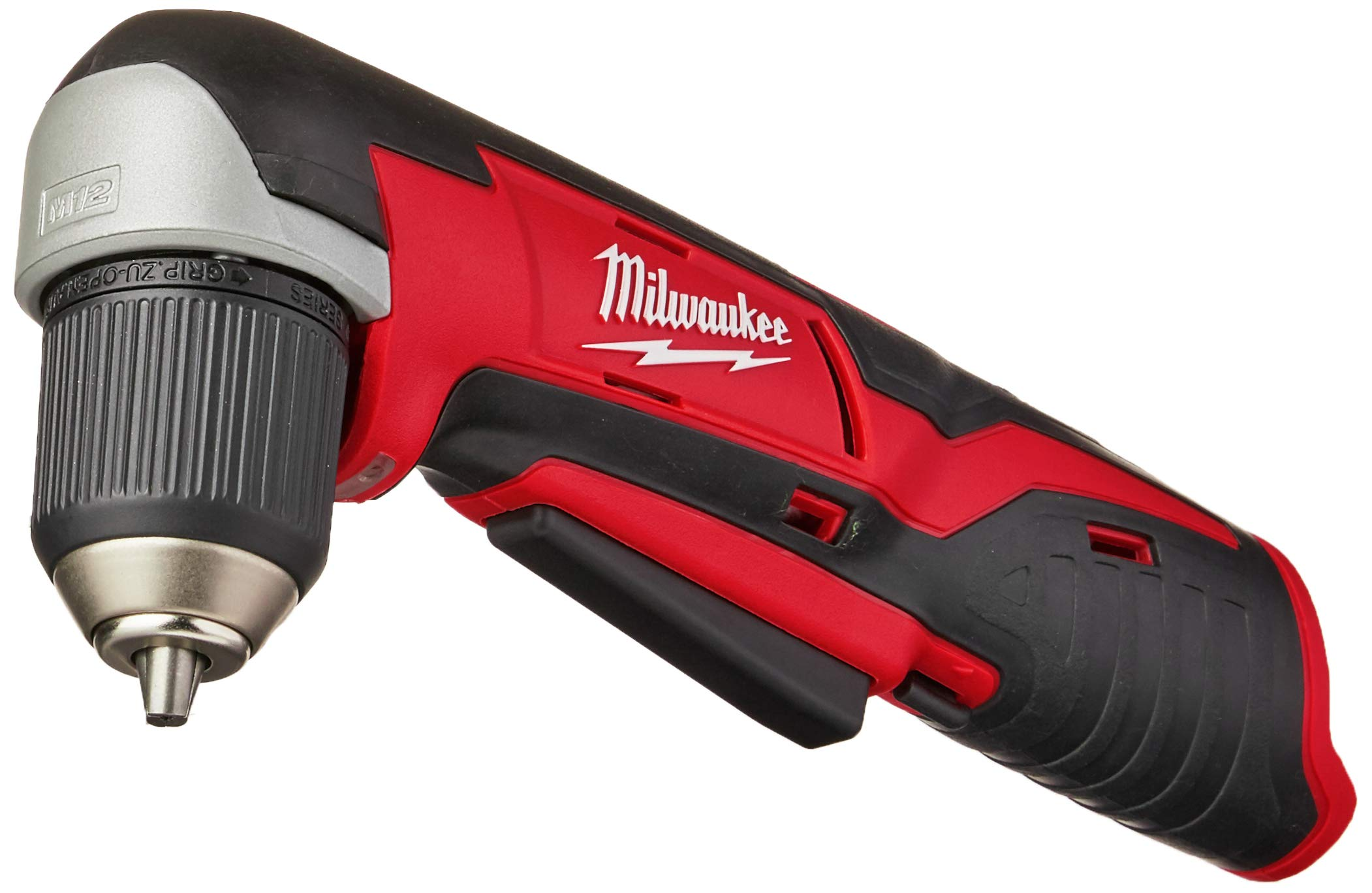 Milwaukee 2415-20 M12 12-Volt Lithium-Ion Cordless Right Angle Drill, 3/4 In, Bare Tool, Medium