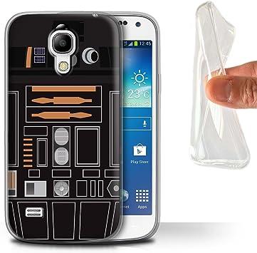 eSwish Carcasa/Funda TPU/Gel para el Samsung Galaxy S4 Mini/Serie: Astromech Droide: Amazon.es: Electrónica