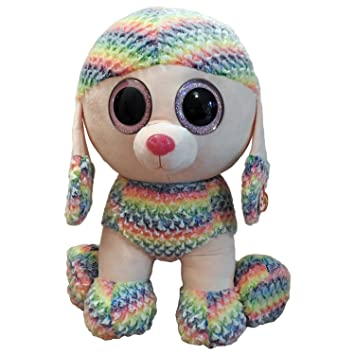 6acf6c721b8 Ty Beanie Boo XL Rainbow Poodle Plush Collectable Toy (12+ Months ...