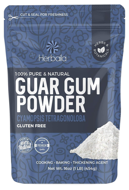 Guar Gum Powder, 16oz, 1 Lb, Gluten Free, Baking Thickener & Binder, Food Grade, Keto Friendly, non-GMO