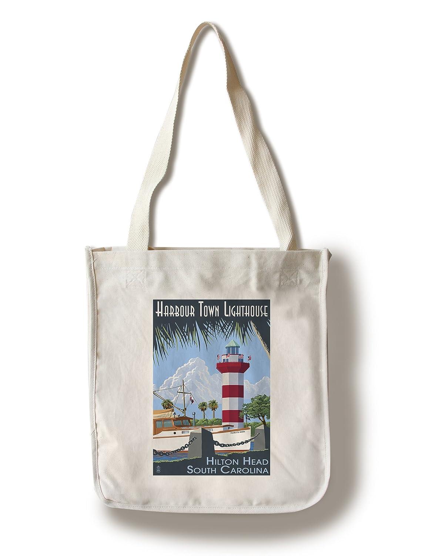 正規通販 ヒルトンヘッド Bag、South Carolina – Harbour Town灯台 Tote 15oz Harbour Mug LANT-3P-15OZ-WHT-32683 B01841O4YE Canvas Tote Bag Canvas Tote Bag, 古典:b9a2ff1e --- podolsk.rev-pro.ru