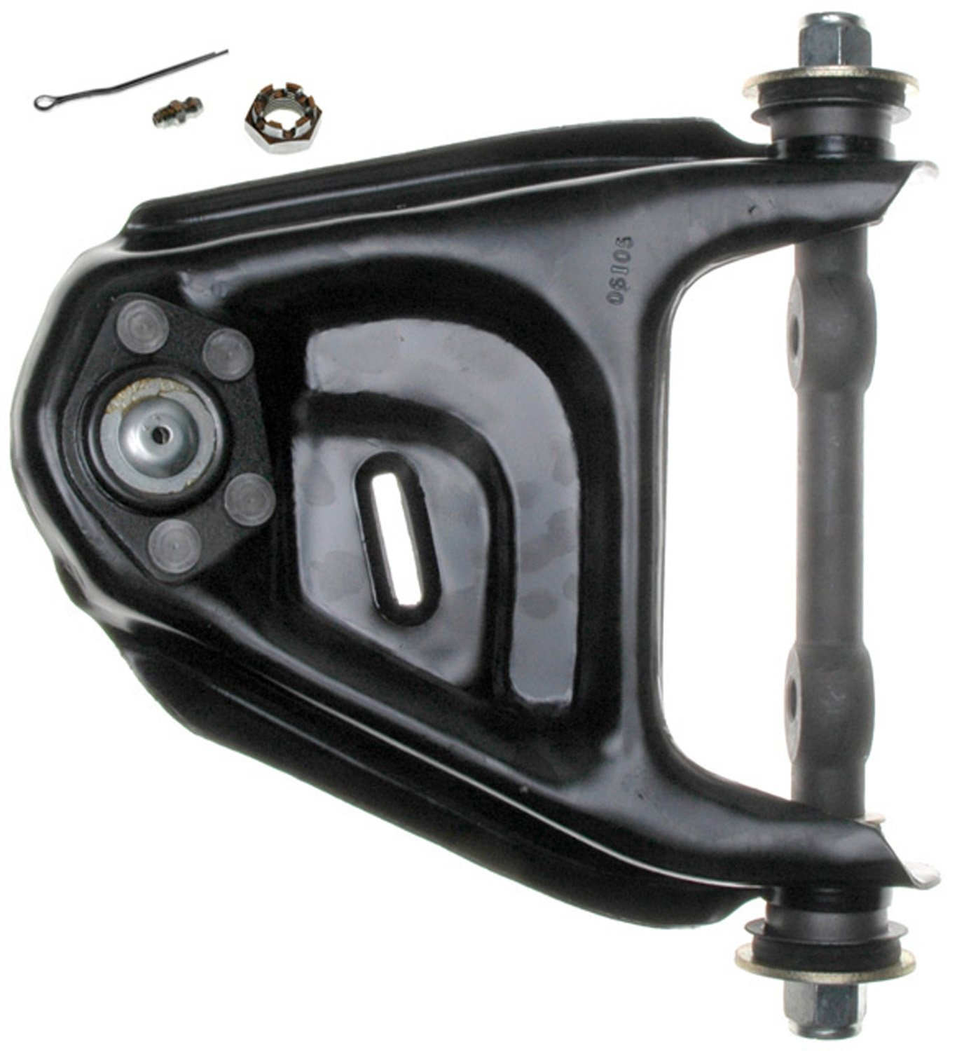 ACDelco 45D1135 Professional Front Driver Side Upper Suspension Control Arm and Ball Joint Assembly