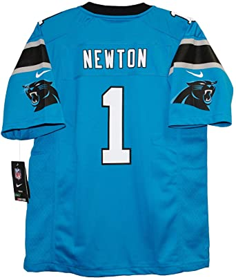 best website 7b24b b1477 Cam Newton Carolina Panthers Youth Game Home Jersey - Panther Blue