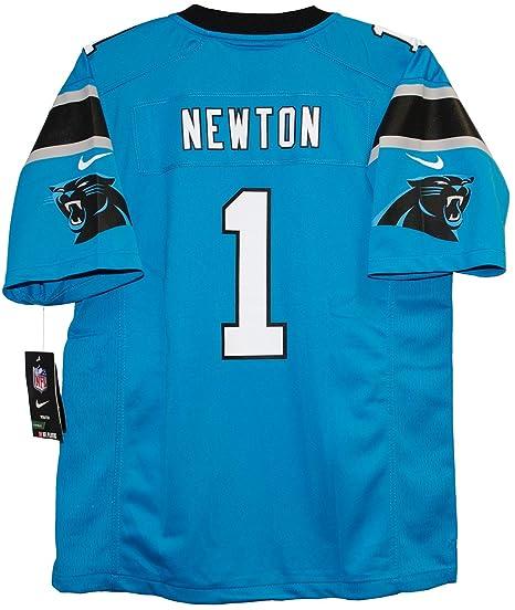 Cam Newton Carolina Panthers Youth Game Home Jersey - Panther Blue (YTH M) 81daa120a