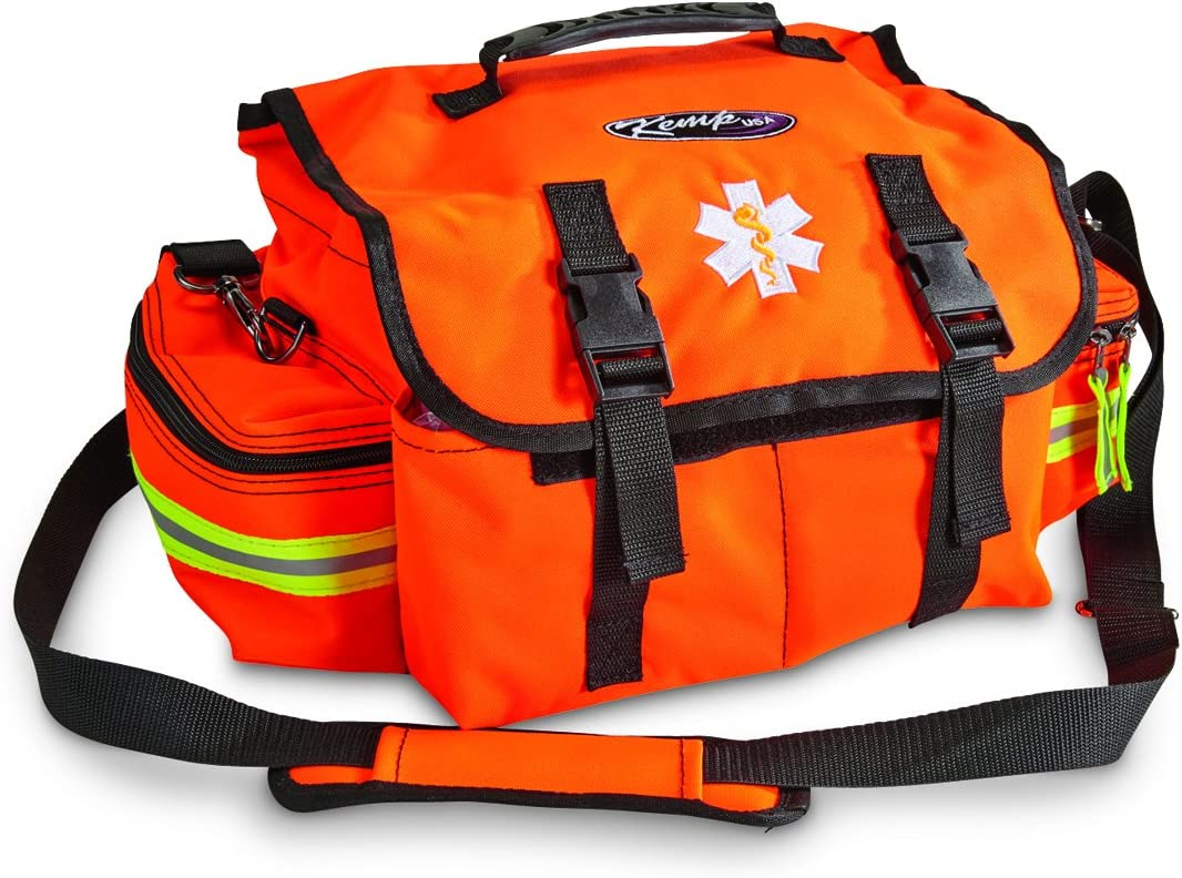 Orange 247 Piece Elite First Aid Pro-II Trauma First Aid Bag