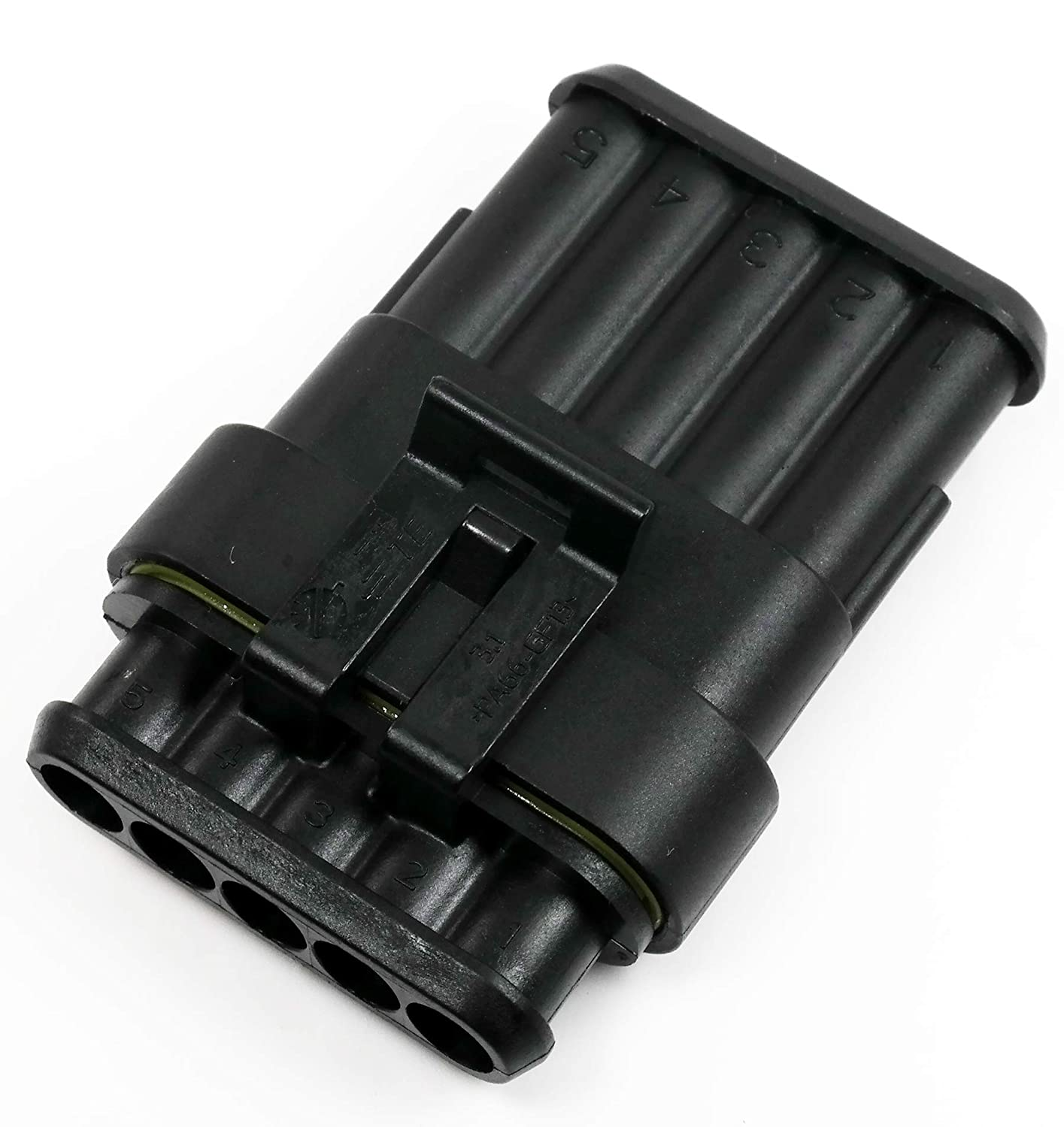 4-Pin TE Connectivity AMP Superseal 1.5 Series Electrical Multi Sealed Connector Kit w//Terminals 16-20 AWG
