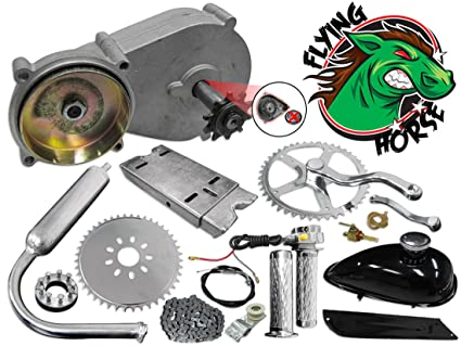 Flying Horse Complete 5G 4-Stroke Bicycle Engine Transmission Kit