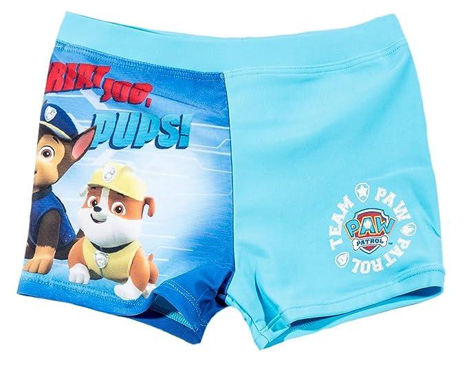 La Pat  Patrouille - Bañador de natación - para niño azul 4 años ... da1272cf4c0