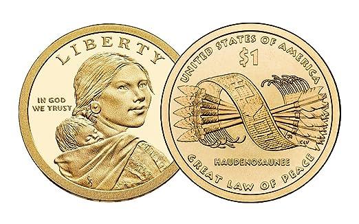 2010 S Proof Native American Sacagawea Golden Dollar At Amazon S