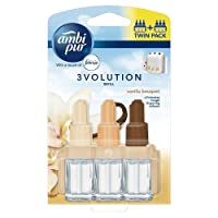 Ambi Pur 3Volution Plug In Refill Twin Pack Vanilla Bouquet 40 ml