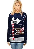 Ladies Men Womens Unisex Christmas Jumper baggy jumper Xmas 3D Novelty star wars Yoda Dark Vader elf reindeer Retro Sweater Vintage 70