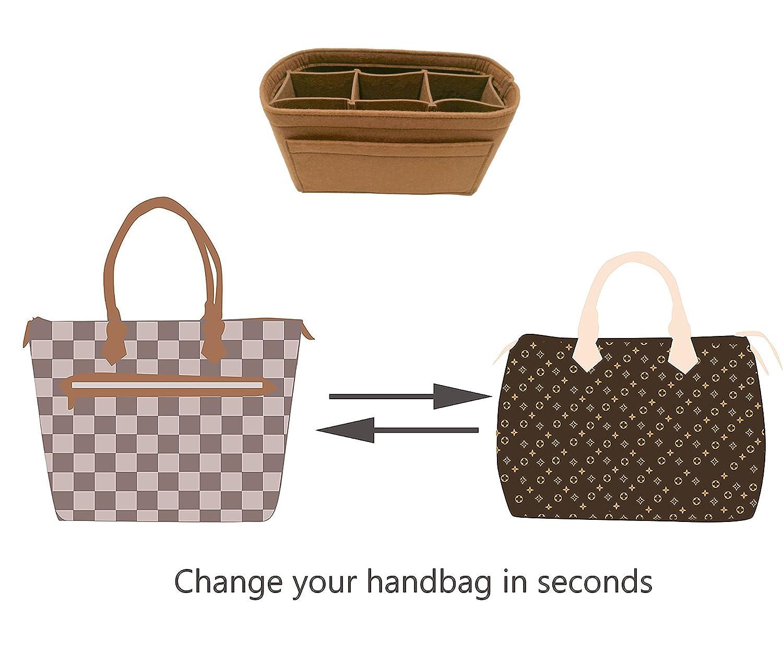 Felt Insert Bag Organizer Bag In Bag For Handbag Purse Organizer Fits Speedy Neverfull LEXSION