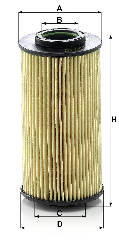 Pour v/éhicules particuliers Original MANN-FILTER Filtre /à huile HU 712//10 X Filtres /à huile avec joints