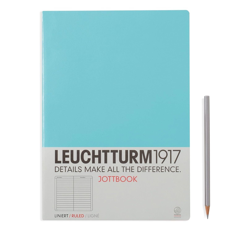 color negro A4 LEUCHTTURM1917 Jottbook 343057 hojas cuadriculadas Cuaderno de notas