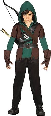 Incluye camiseta con guantes a juego, chaleco con dos cinturones, pantalones y capucha,No incluye ar