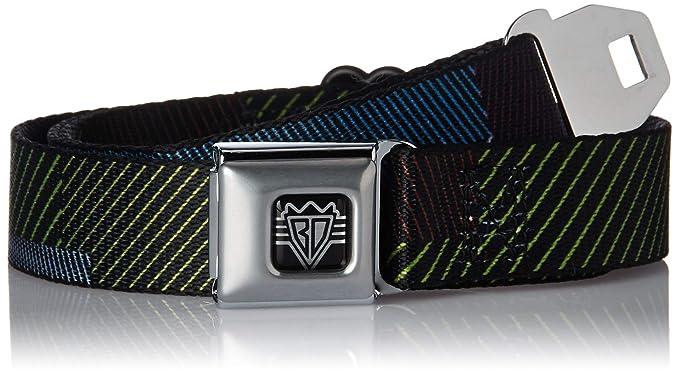 ae7866ab Buckle Down Men's Seatbelt Belt Stripes Kids