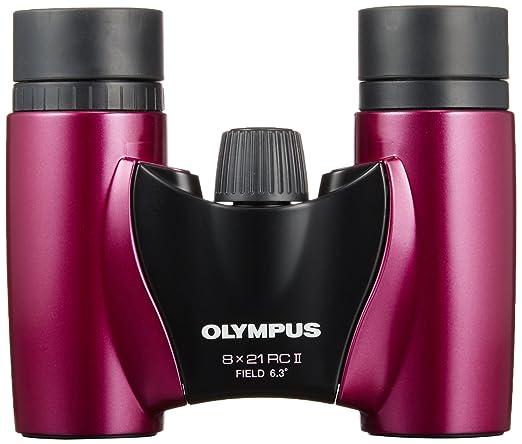 Olympus 8x21 RC II Fernglas mit Tasche Magenta Kamera & Foto ...