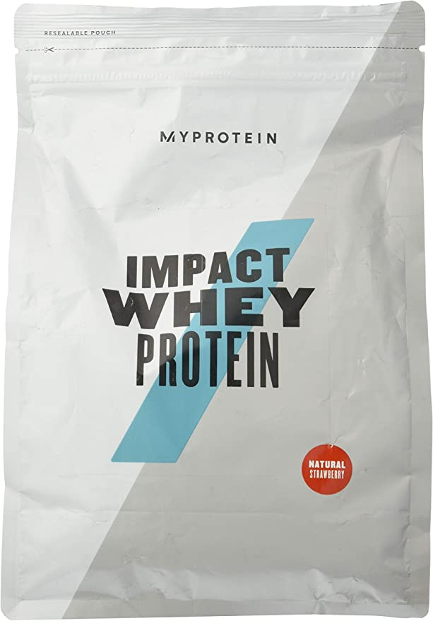Myprotein Impact Whey Protein, 1 kg, Natural Strawberry