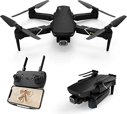 Amazon Com Eachine E520s Gps Drone With 4k Camera For Adults 5g Wifi Fpv Live Video Foldable Drone Gps Return Home 1200mah 16mins Flight Time Follow Me Rc Drone Quadcopter For Beginners Toys