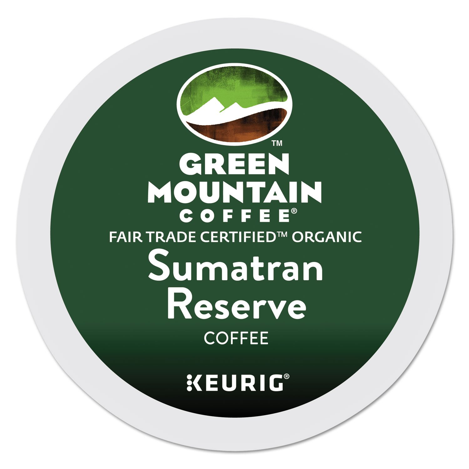 B004AFNKQ2 Green Mountain Coffee Roasters Sumatra Reserve single serve K-Cup pods for Keurig brewers, 96 Count 716jDMrlPrL