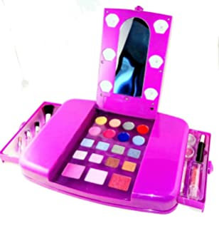 barbie makeup kits for girls. little girls make up set kids beauty toy vanity young makeup cosmetics glamour 28 barbie kits for d