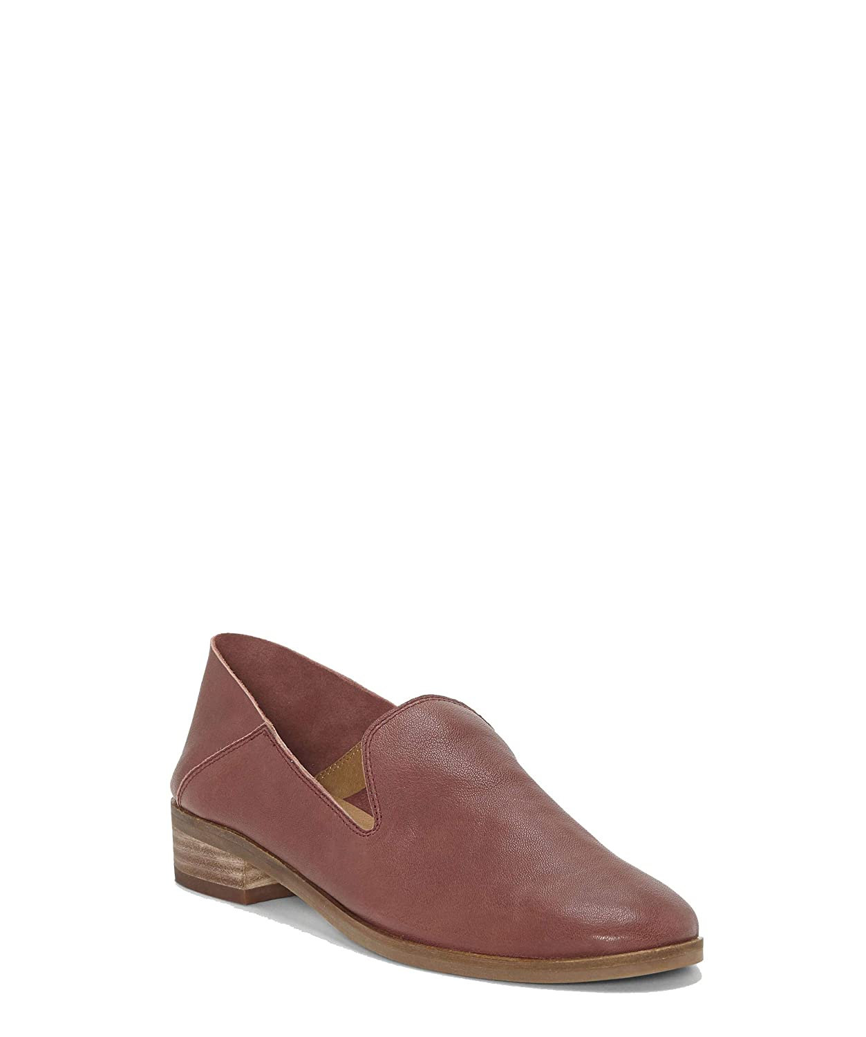 Lucky Brand Womens Cahill Loafer Flat-Burgundy Nappa