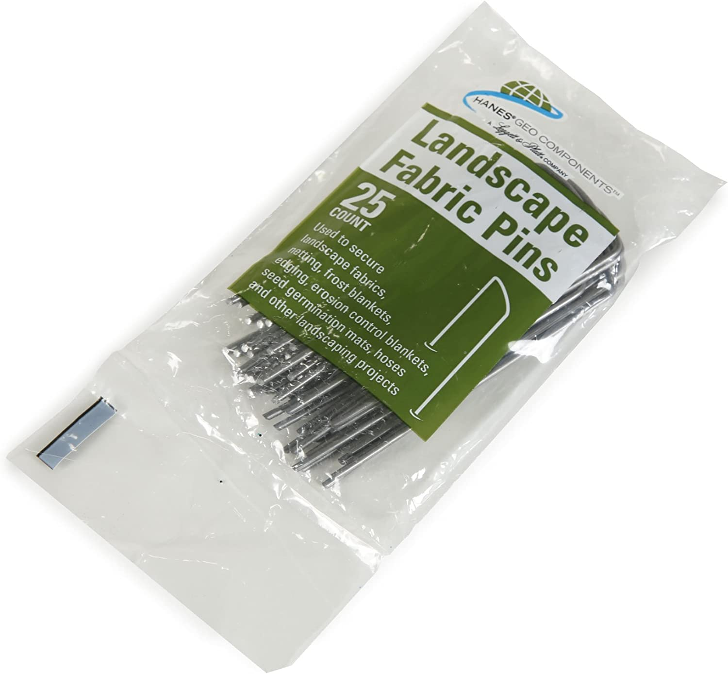Hanes Geo Components 85195 Landscape Fabric Staples, 4-Inch - 25 Count