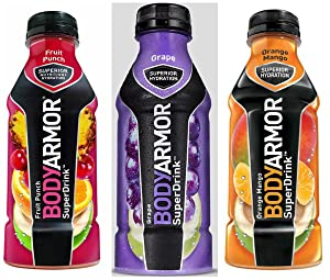 Bodyarmor SuperDrinks 12 - 16oz Bottles (Flavor Pack 3)