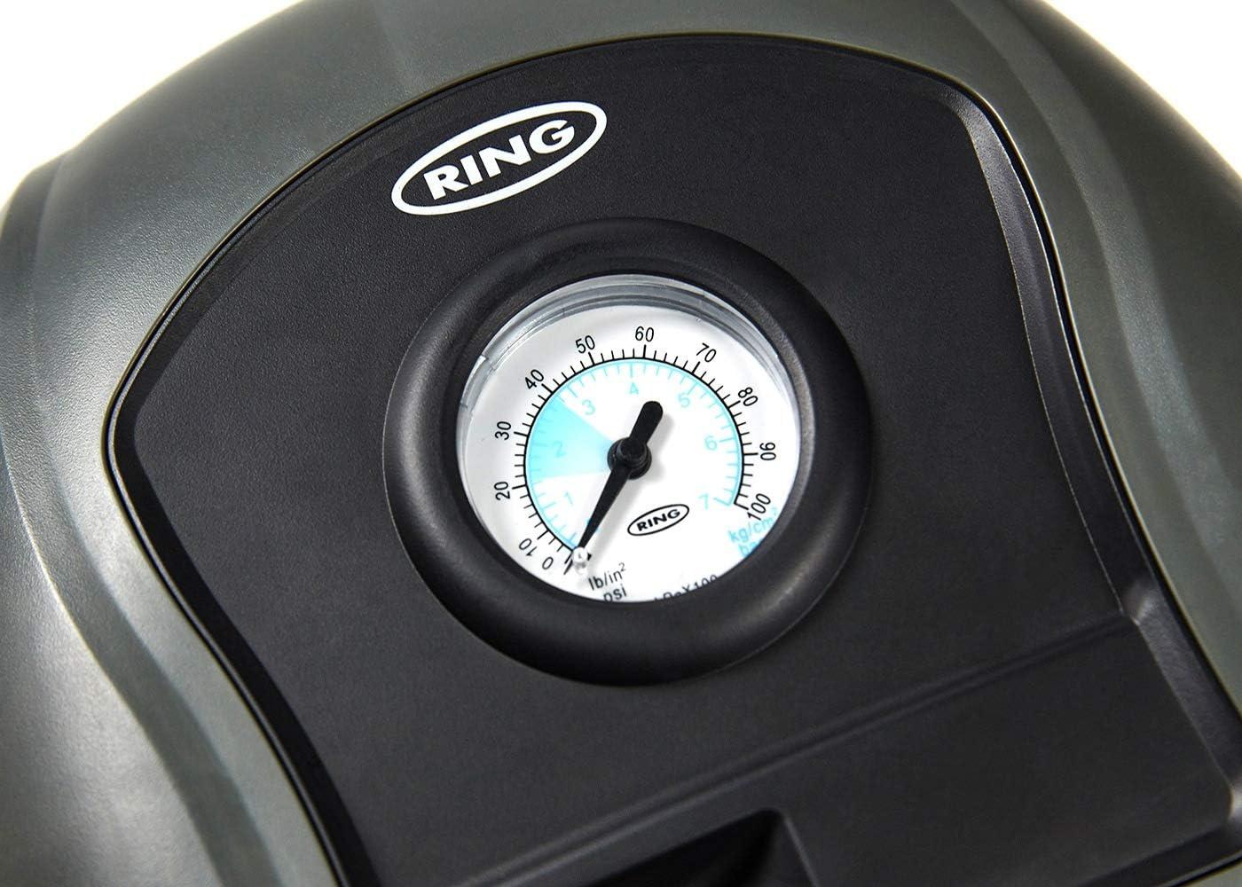 Sin luz LED Ring Automotive RTC300 Inflador de neum/áticos Digital Ring