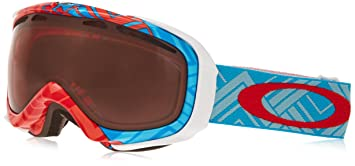 oakley elevate ski goggles  Amazon.com : Oakley Elevate Ski Goggles, Braided Blue/Rose ...