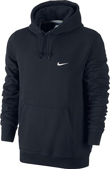 Nike Swoosh Club Sweat à Capuche pour Homme Bleu MarineBlanc 611457–473