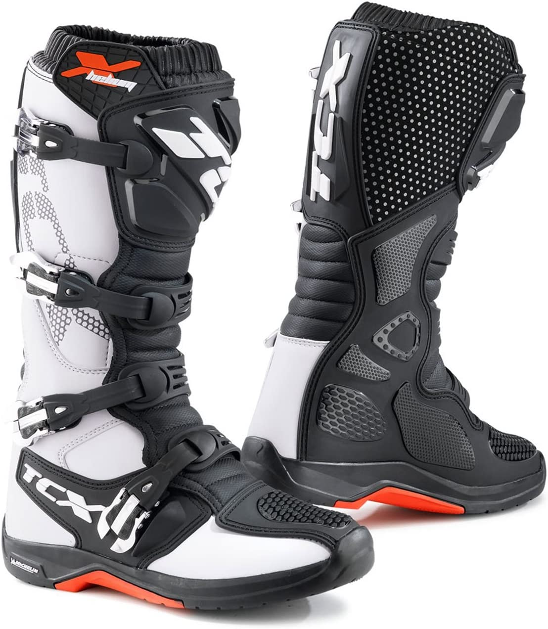 TCX X-Helium Michelin White Offroad Boots 9671 BIAN 46//12