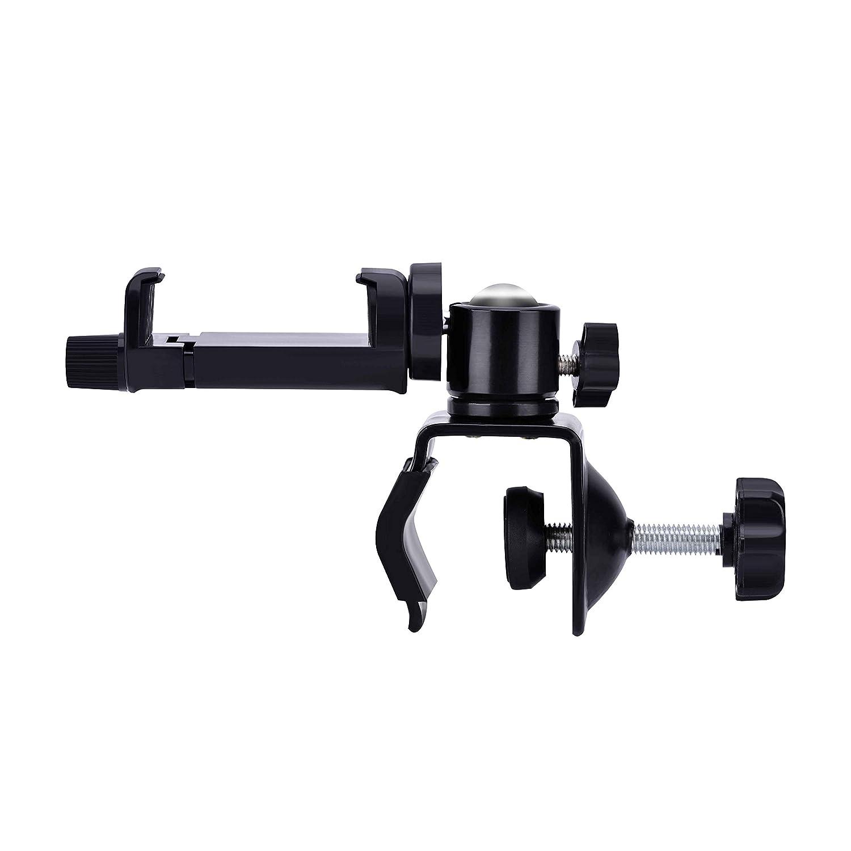 Baby Monitor Bracket Clips Adjustable 360 Degrees Flexible Yet Sturdy Portable Baby Monitor Camera Mount Bracket Aramox