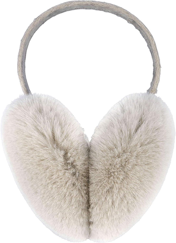 Simplicity Women's Winter Faux Fur Ear Warmers Earmuffs