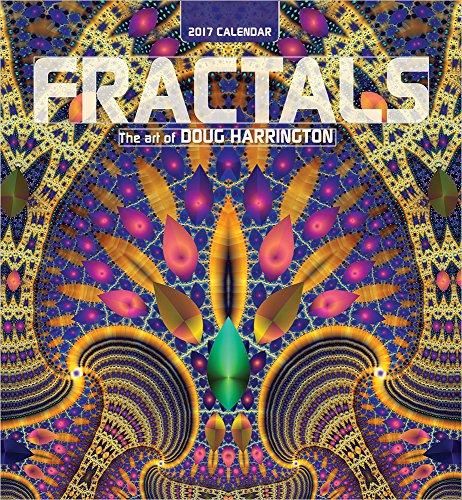 (2017 Fractals: The Art of Doug Harrington Wall Calendar)