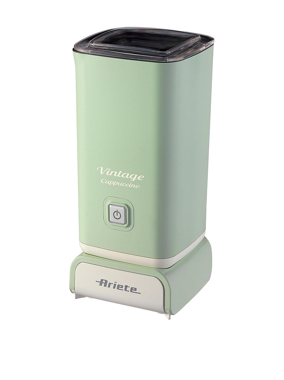 cioccolata calda e fredda Ariete 2878 Vintage Schiumatore -Montalatte per cappuccino t/è infusi liofilizzati Verde//Beige 500 watt