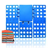 ValueHall Magic Clothes Folding Board Adult T-Shirt Laundry Organizer Clothes Flip Folder - Crease in a few Easy Steps V7031-1 (Blue)