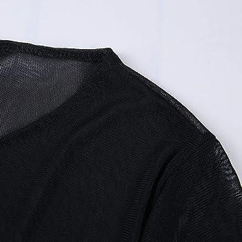 ZORE Vestidos De Mujer De Flecos Mini Vestido De Costura Sexy con ...