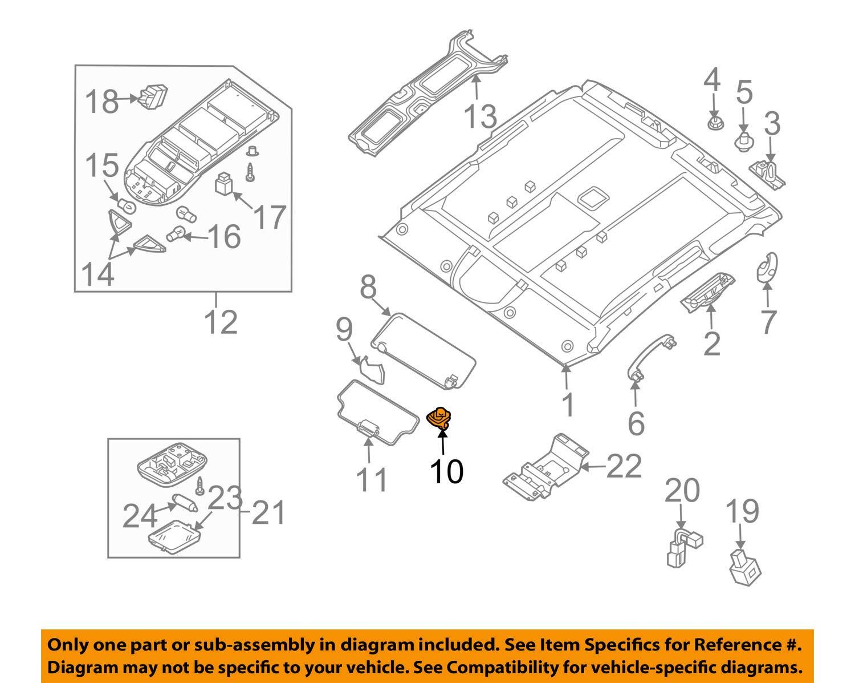 2004 Nissan Armada Parts Diagram