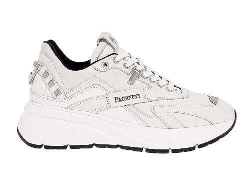 Marke It Cesare Uomo PaciottiSneaker Bianco Größebianco44 0m8Nnw