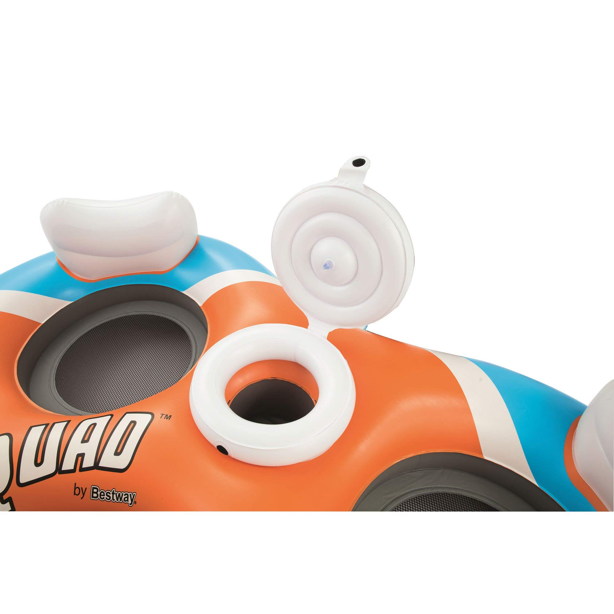 CoolerZ Rapid Rider X4 Inflatable 4-Person Island Tube by Bestway (Image #7)