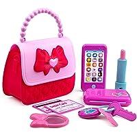 Playkidz Princess My First Purse Set - 8 Pieces Kids Play Purse and Accessories,...