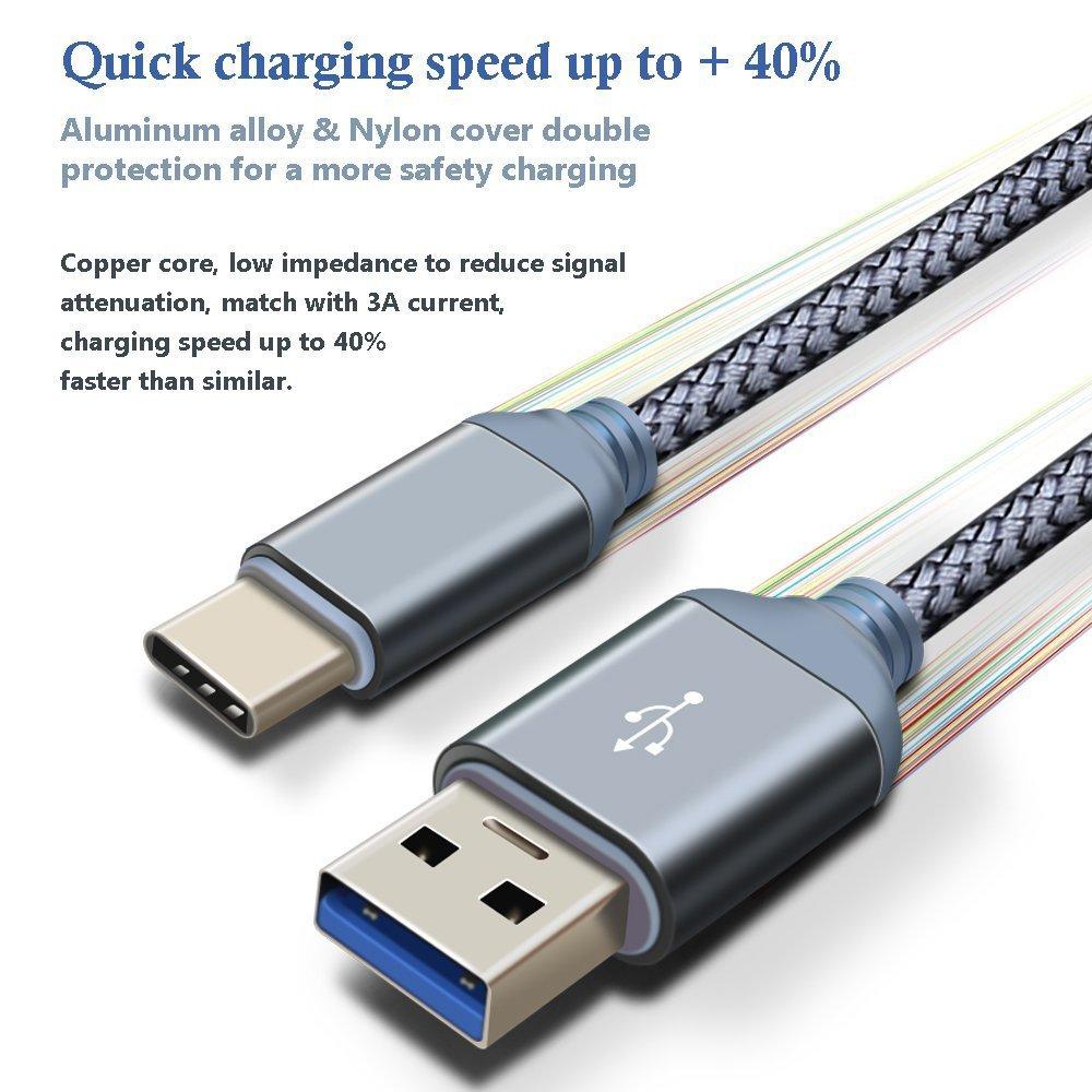 Type C Cable, iMangoo USB 3.0 to USB C Cable Durable: Amazon.co.uk ...